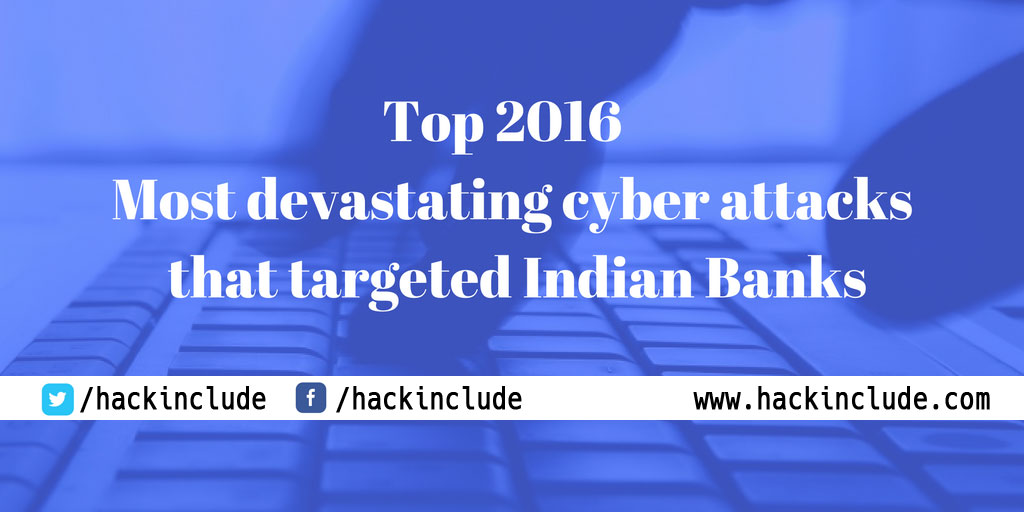 Attacks That Targeted Indian Banks